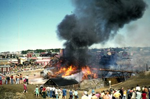 Brannen i 1975.
